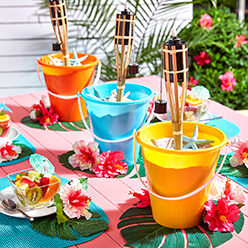 Luau Party Table Centerpiece