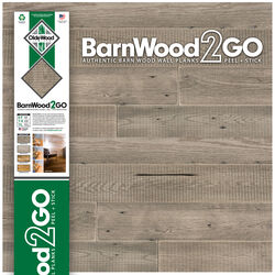 OldeWood Limited  BarnWood2GO  5/16 in. H x 5-1/2 in. W x 48 in. L Weathered  Gray  Wood  Wall Plank
