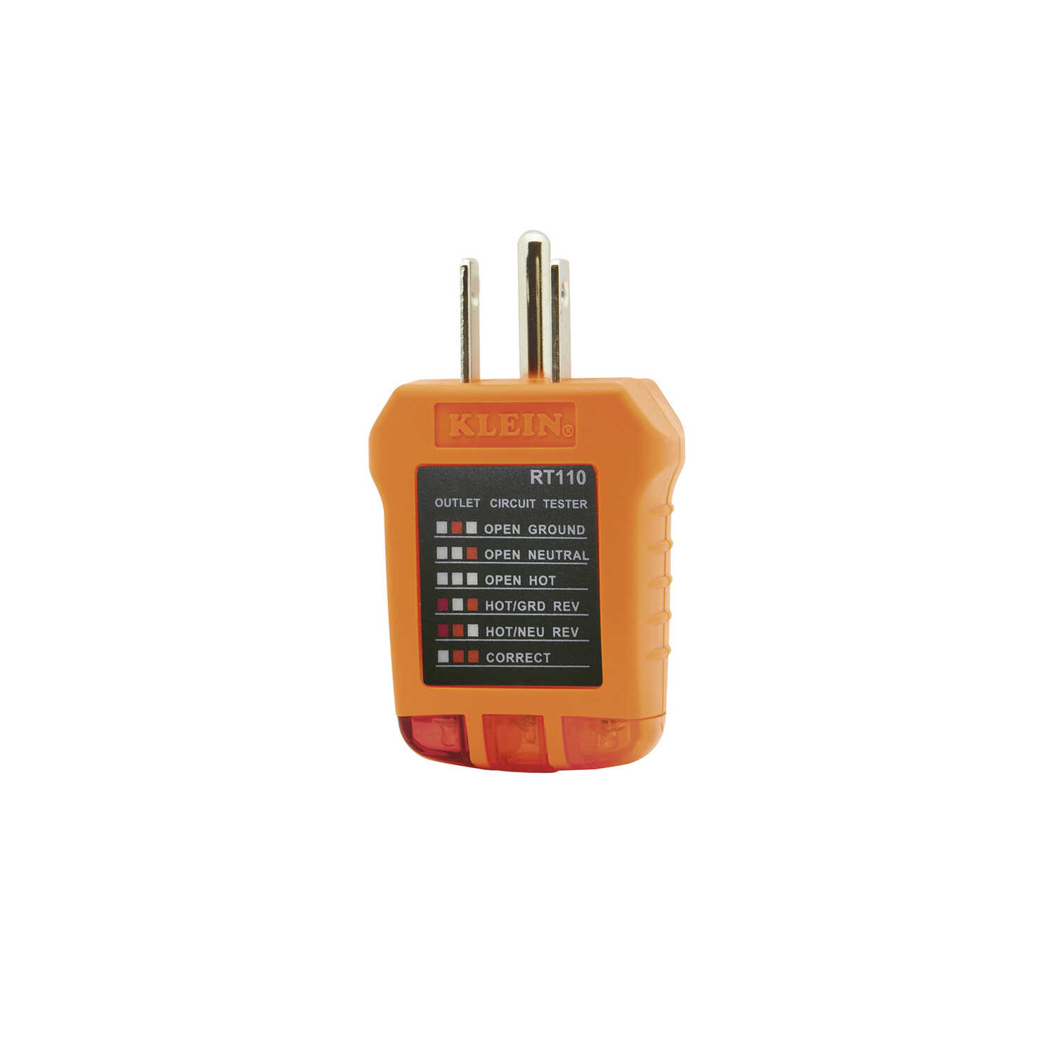 Klein Tools  LED  Receptacle Tester