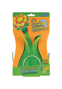 Scrub Daddy  Scrub Daisy  Heavy Duty  Dishwand Scrubber  For Household 1 pk
