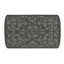 Sports Licensing Solutions 30 in. L x 18 in. W Gray Scroll Nonslip Floor Mat