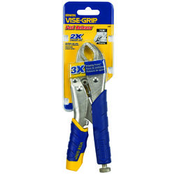 Irwin  Vise-Grip  7 in. Alloy Steel  Fast Release Curved Jaw  Curved Jaw Locking Pliers