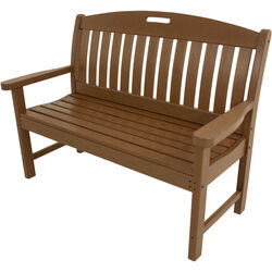 Hanover  Avalon  Bench  HDPE  37.5 in. H x 48 in. L