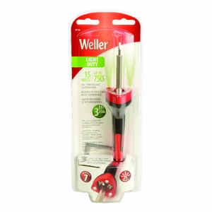Weller  Cooper Tools  10.8 in. Corded  Soldering Gun Kit  15 watts Orange  1 pk