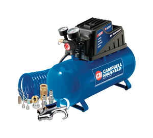 Campbell Hausfeld  3 gal. Portable 110 psi 0.3 hp Air Compressor