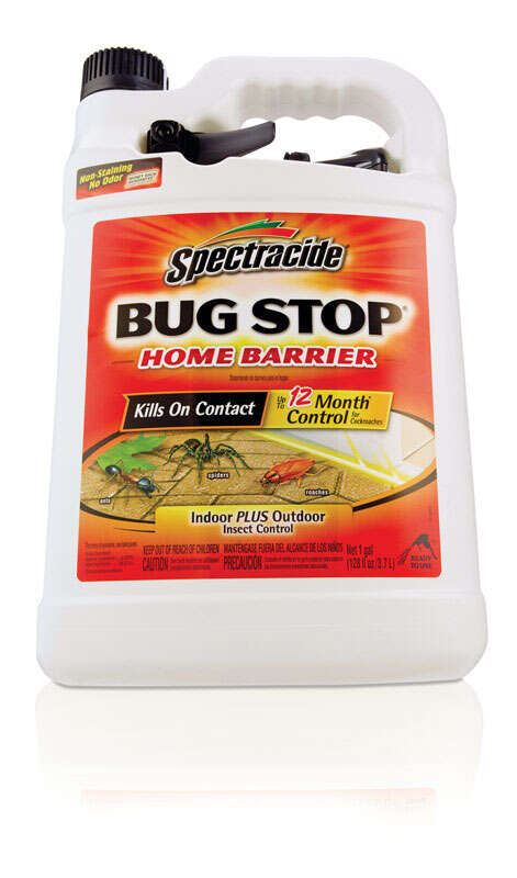 Spectracide  Bug Stop Home Barrier  Insect Killer  1 gal.