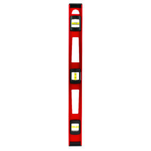 Ace  24 in. Aluminum  I-Beam  Level  3 vial