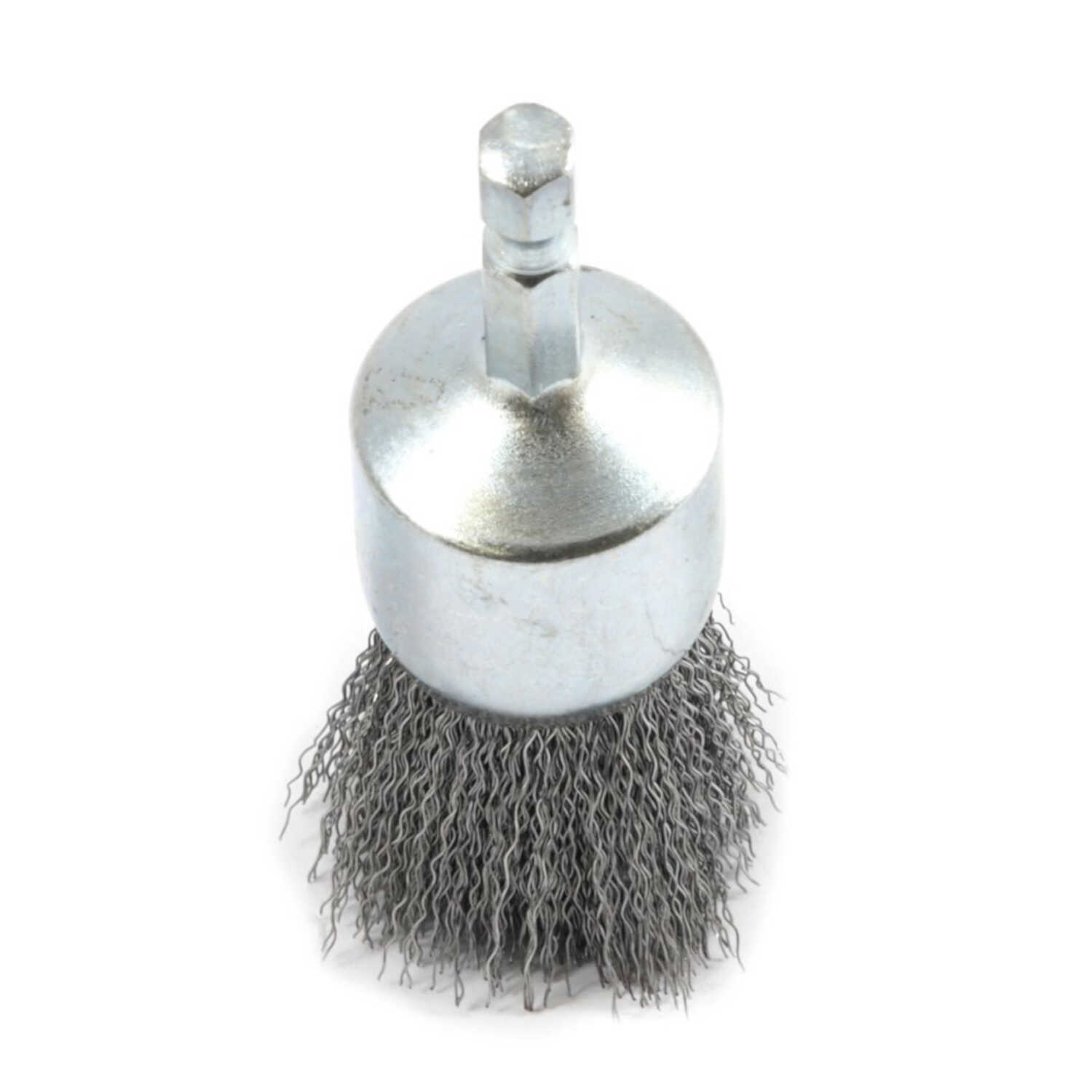 Forney  1 in. Crimped  Wire Wheel Brush  Metal  20000 rpm 1 pc.