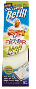 Mr. Clean  Magic Eraser  11 in. L Mop Refill  Sponge  1 pk