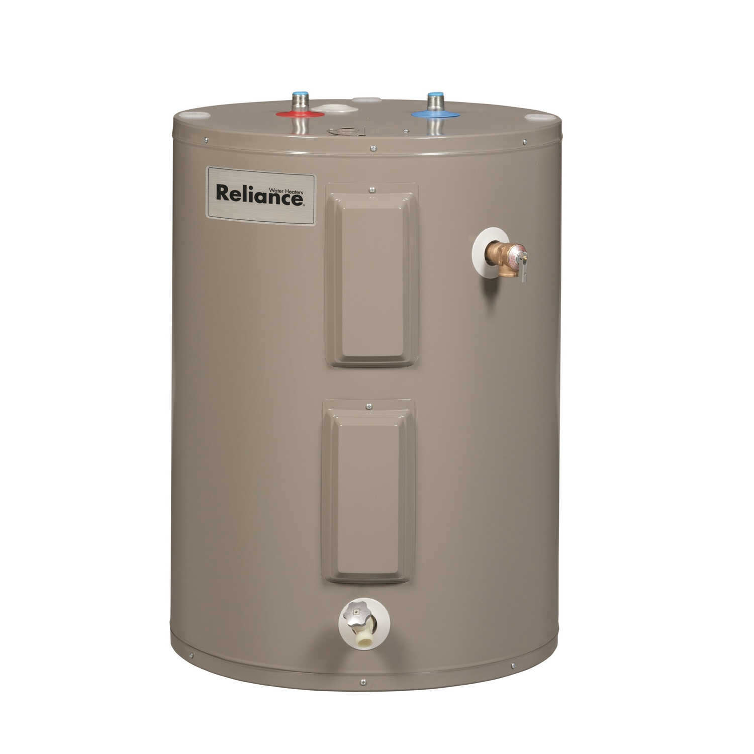Reliance  Electric  Lowboy Water Heater  32 in. H x 23 in. W x 23 in. L 38 gal.