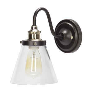 Globe  Jackson  9.05 in. H x 9.25 in. W x 7.87 in. L Antique Bronze  Bronze  Downlight