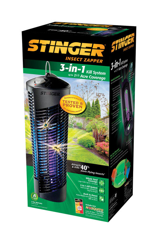 Stinger  3-in-1  Insect And Mosquito Zapper  1-1/2 acre