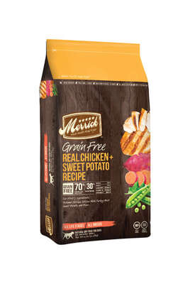 Merrick  Chicken and Sweet Potato  Dry  Dog  Food  Grain Free 25 lb.