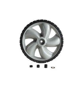 Arnold  1.75 in. W x 12 in. Dia. Plastic  Lawn Mower Replacement Wheel  50 lb.