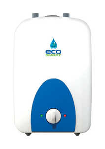 EcoSmart  Water Heater  Electric  2.5 gal. 16 in. H x 10-29/32 in. L x 11 in. W