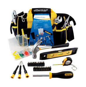 Great Neck  Essentials  32 pc. Household Tool Kit  Yellow