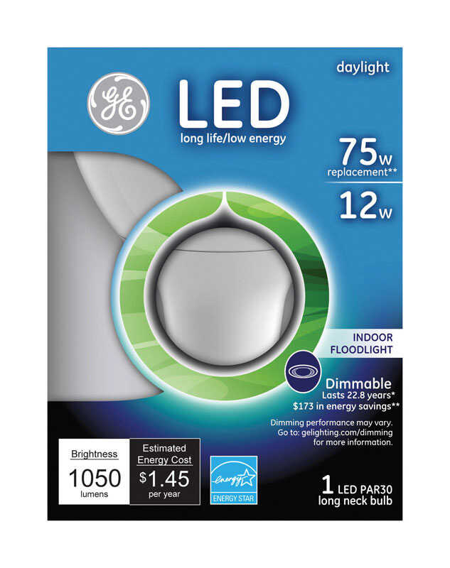 GE PAR30 E26 (Medium) LED Bulb Daylight 75 Watt Equivalence 1 pk