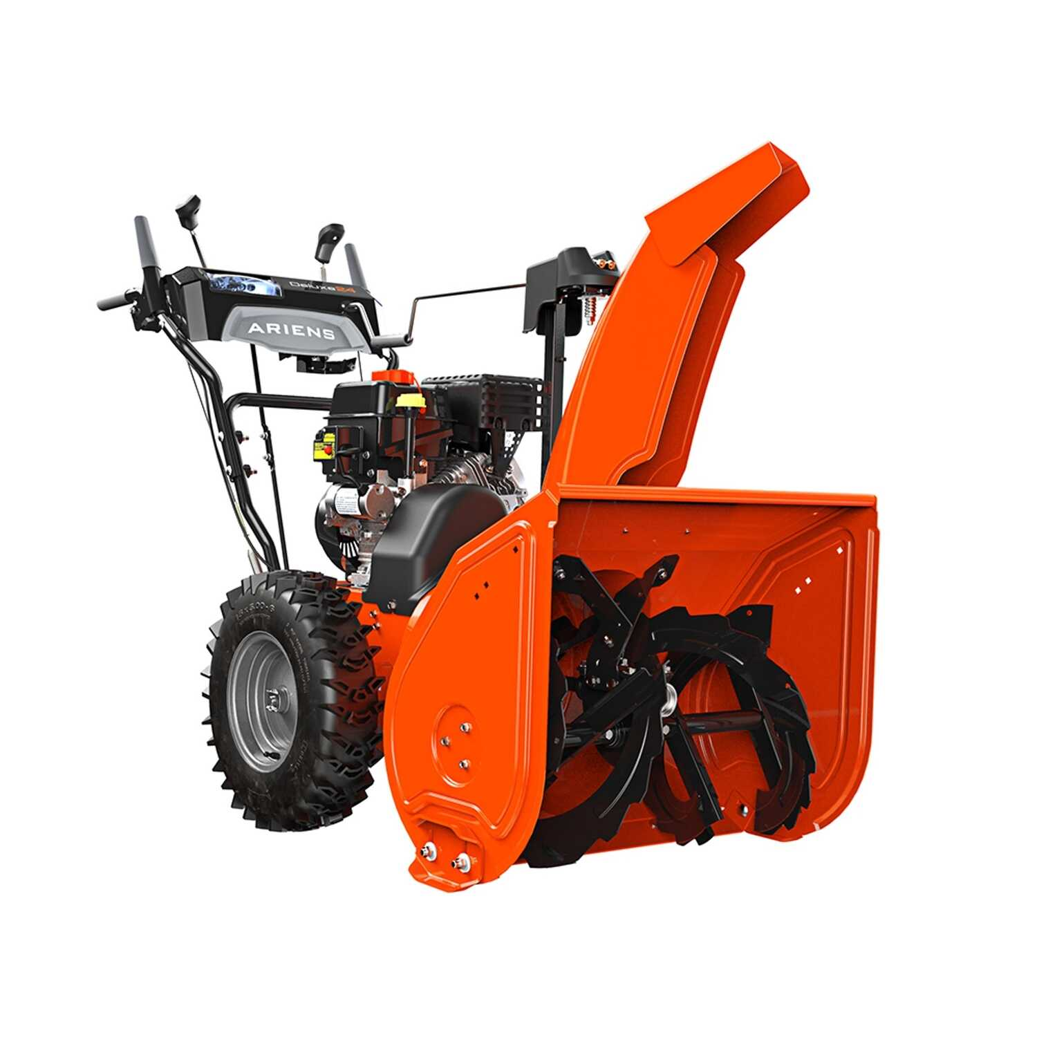 Ariens  Deluxe  24 in. W 254 cc Two-Stage  Electric Start  Gas  Snow Thrower