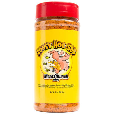 Meat Church  BBQ Rub  Honey Hog  Seasoning  14 oz. Bottle