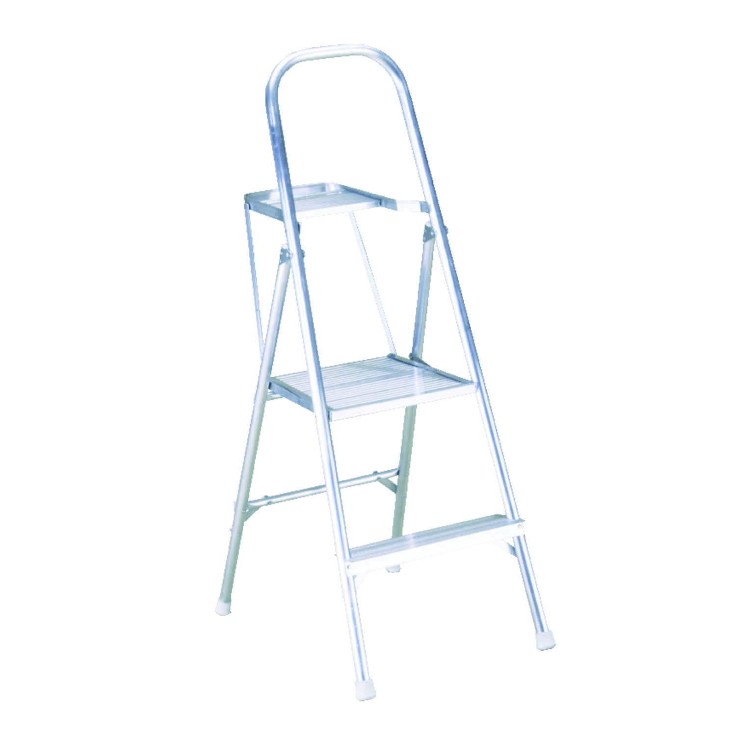 Werner  4 ft. H x 20 in. W Aluminum  Type III  200 lb. capacity Platform Ladder