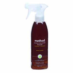 Method  Wood for Good  Almond Scent Wood Cleaner and Polish  12 oz. Liquid