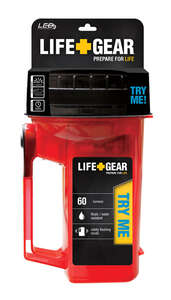 Life Gear  Glow  60 lumens Floating Lantern  Red