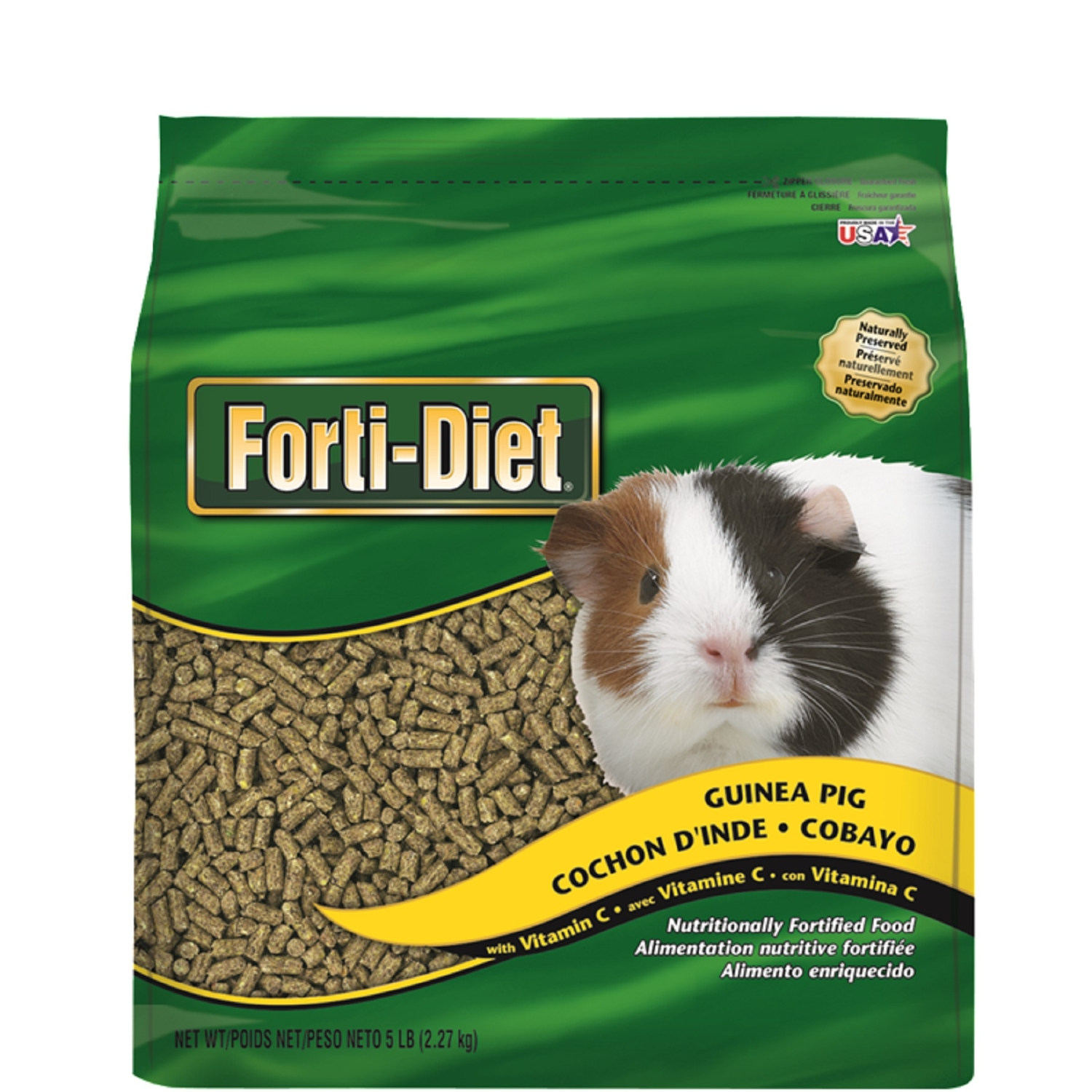 Kaytee  Forti-Diet  Pellet  Pellets  Small Animal  Food  5 lb.