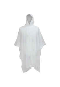 Boss  Clear  Vinyl  Rain Poncho  One Size Fits All