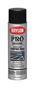 Krylon  Professional  Black  Traffic Zone Marking Paint  18 oz.