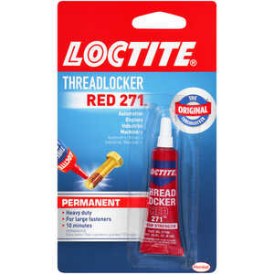 Loctite  Nut & Bolt  High Strength  Liquid  Automotive and Industrial Adhesive  0.2 oz. 1 pk