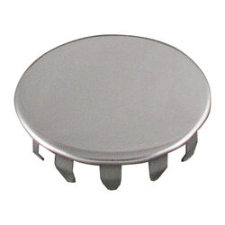 LDR  Stainless Steel  1-1/2 in. Dia. Faucet Hole Cover