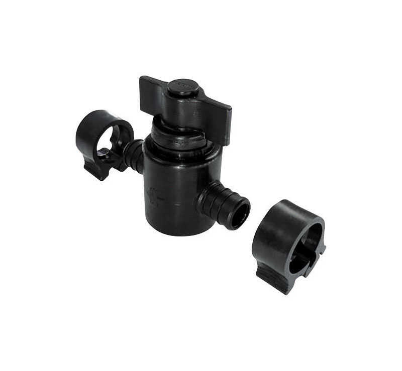 Flair-It  PEXLock  PEX   Plastic  Straight Stop Valve