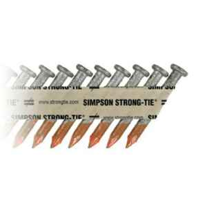 Simpson Strong-Tie  10D  1-1/2 in. Connector  Hot-Dipped Galvanized  Steel  Nail  Smooth Shank  Roun