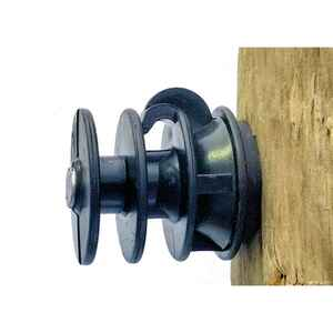Dare Products  Electric Fence Insulator  Black