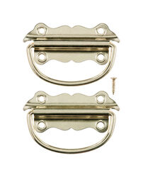 Ace  Bright  Brass  2 pk Chest Handle  3-1/2 in.