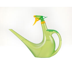 Scheurich Green 0.4 gal. Plastic Sprayman Watering Can Sprayer Combo
