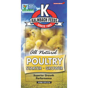 Kalmbach Feeds  Grower/Starter Feed  Crumble  For Chickens 50 lb.