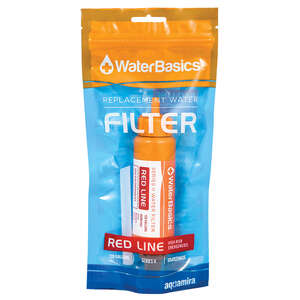 Water Basics  Aquamira Red Line  Replacement Water Filter  120 gal.