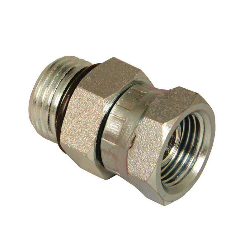 Universal  Steel  Hydraulic Adapter  3/8 in. Dia. x 1/4 in. Dia. 1