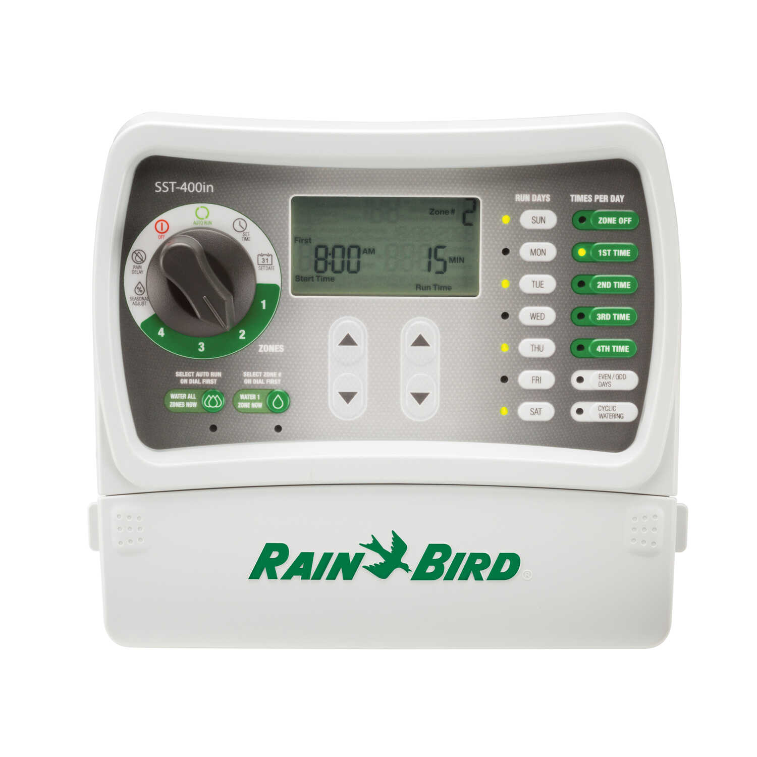 Rain Bird  Programmable 4 zone Sprinkler Timer