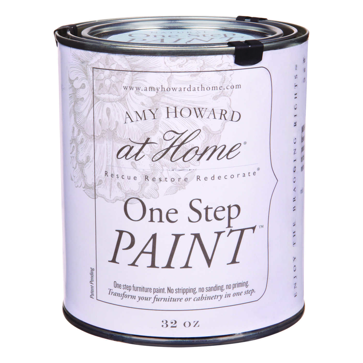 Amy Howard at Home  Flat Chalky Finish  Credenza  Latex  One Step Paint  32 oz.