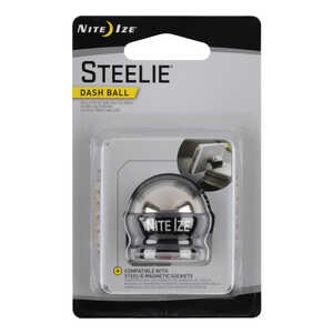 Nite Ize  Steelie  Black/Silver  Cell Phone Car Mount  For Universal Universal