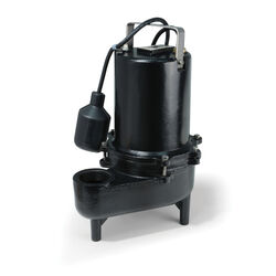 Eco-Flo  6/10 hp 9910 gph Cast Iron  Sewage Pump
