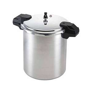 Mirro  Polished Aluminum  Pressure Cooker and Canner  22 qt.