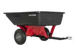Craftsman  Poly  Lawn Cart  10 cu. ft.
