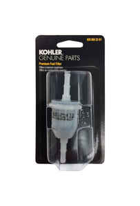Kohler  51 micron Plastic  Flare Fitting  Fuel Filter