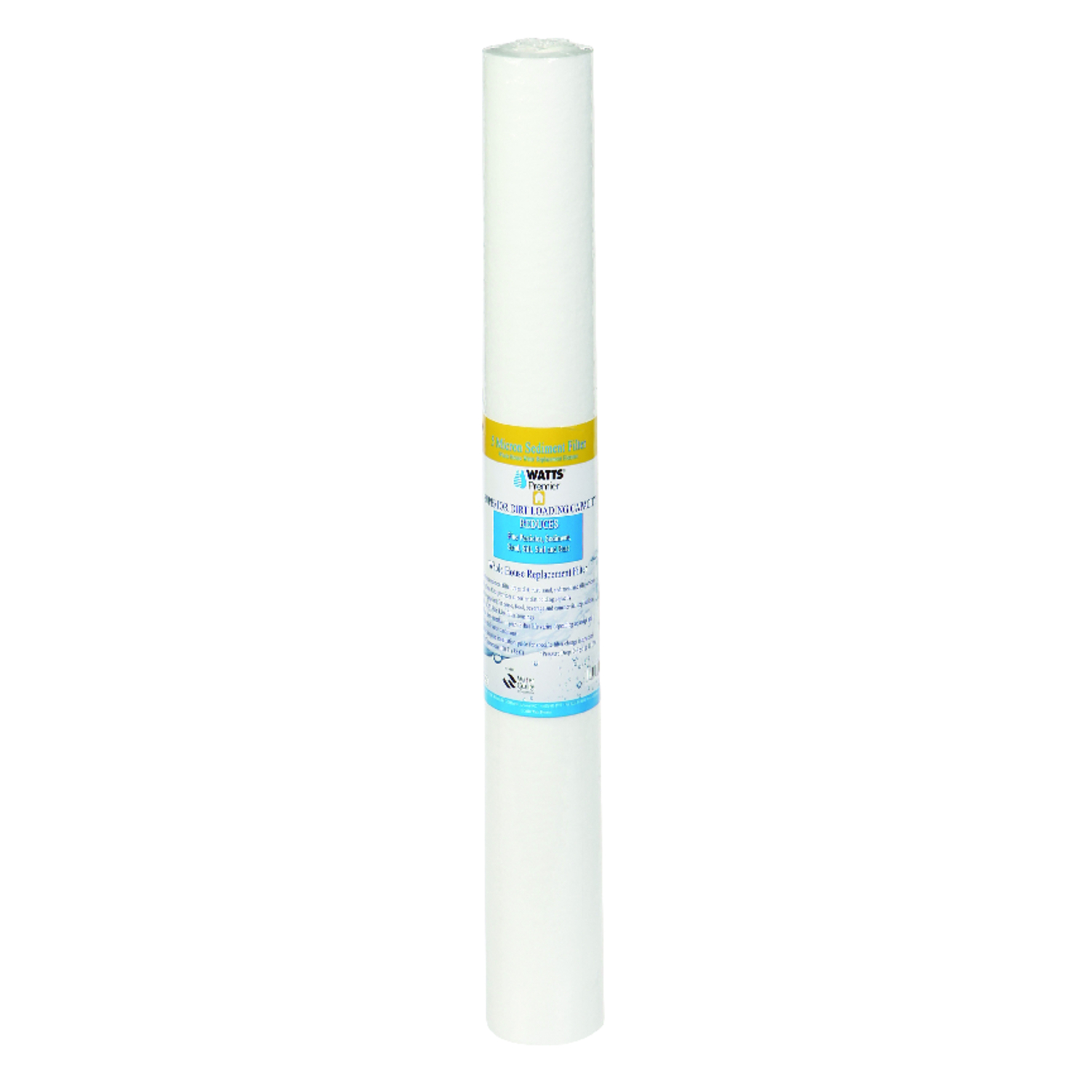 Watts  Premier  Replacement Water Filter  For Whole House 1 year