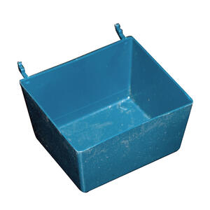 Crawford  1-3/4 in. H x 3-1/2 in. W Blue  Storage Bin