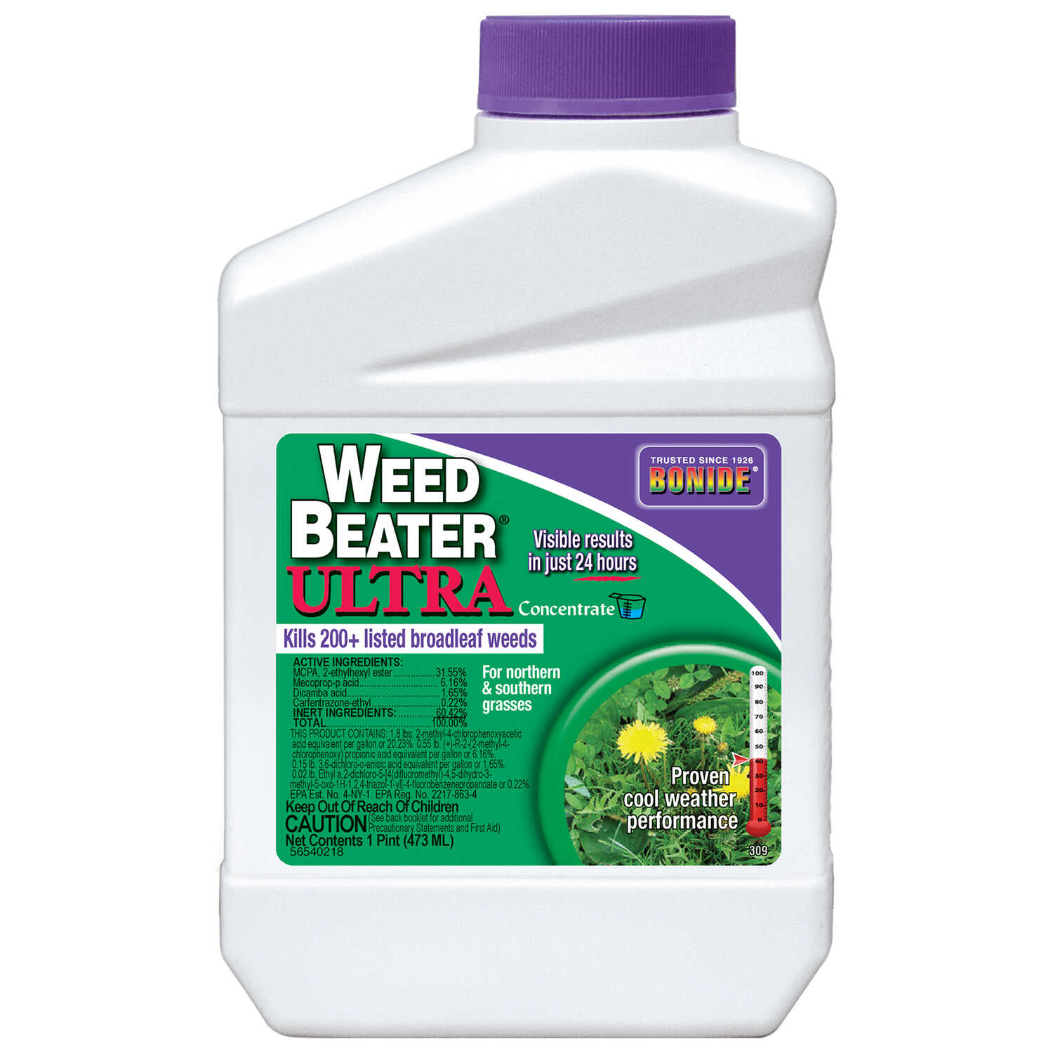 Bonide  Weed Beater Ultra  Concentrate  Weed Killer  16