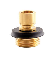 Gilmour  Brass  Male  Quick Connector Faucet